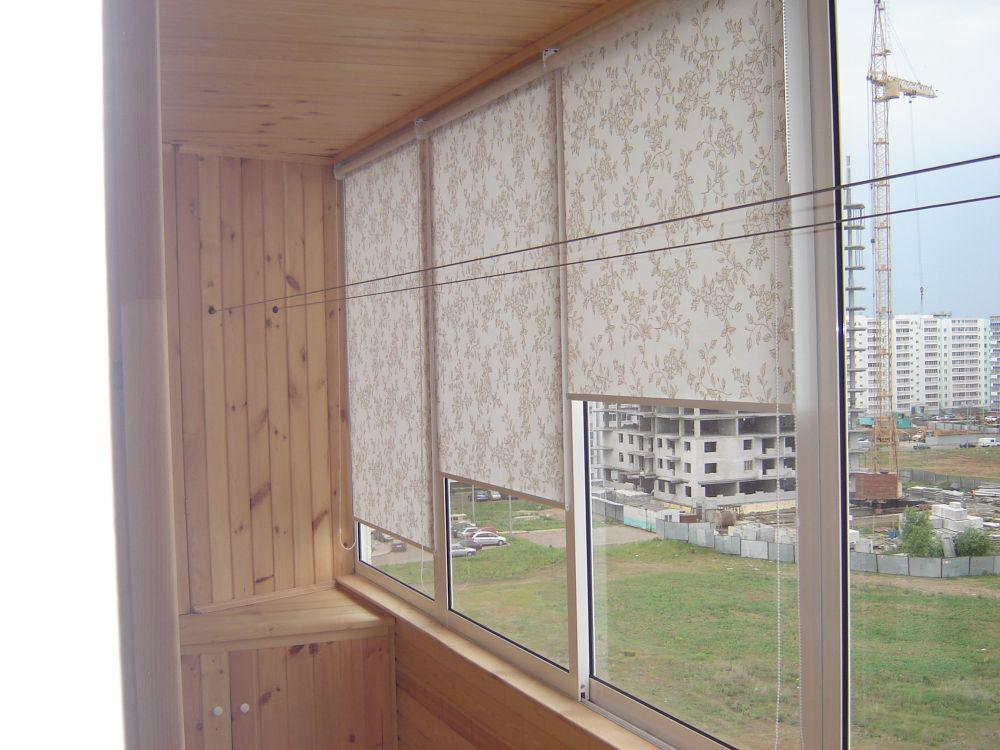 Самодельные рулонные шторы для окон. - как украсить шторы св.